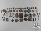 German & Romanian Medal Parts Recovered from the Zimmermann Factory
