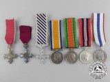 Seven British Miniature Awards & Medals