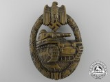 An Early Tank Badge; Bronze Grade