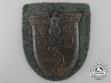 An Army Issued Kuban Campaign Shield by Josef Feix & Sohn