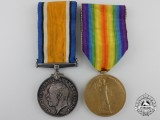 A First War Medal Pair to the 1st Canadian Infantry Battalion