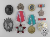 Eight European Medals, Badges, & Decorations