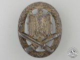 An Army General Assault Badge by Karl Wurster