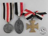 Three North German Medals and Decorations
