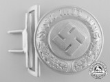 A German Police Officer's Belt Buckle by Overhoff & Cie