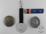 Five German Badges and Insignia