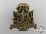 A Rare Field Made Second War Canadian Parachute Corps Cap Badge
