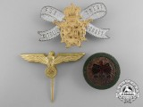 Three German Badges and Insignia