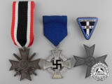 Four Second War German Medals, Badges, and Awards