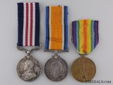 A Canadian First War Military Medal for the Attack at Lens 1917
