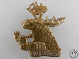 A First War 4th Mounted Rifle Battalion Cap Badge