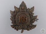 A First War 66th Infantry Battalion Cap Badge CEF