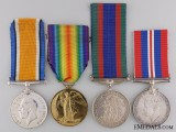 A First War Canadian Pair to Major Whtyock Military Cross