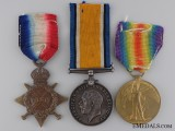 A First War Canadian Medal Trio to Military Medal Recipient