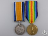 A First War Medal Pair to the 4th Canadian Infantry