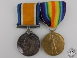 A First War Medal Pair to the Royal Canadian Artillery