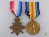 A First War Royal Naval Reserve Medal Pair to 2nd Hand Tammas