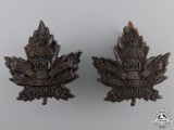 A First War South Saskatchewan Battalion Collar Badge Pair   Consignment 28