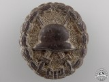 A German Imperial Wound Badge; Silver Grade