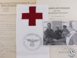 A German Nursing Sister Award Document & Photo Group