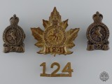 A Governor General's Body Guard Cap Badge Set