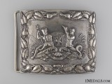 A Liverpool City Pipe Band Shoulder Belt Plate