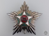 A Moroccan Order of Ouissam Alaouite; Grand Cross