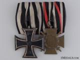 A Pair of First War German Awards