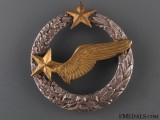 A Pre WWII Air Force Observer's Badge