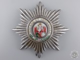 A Prussian Order of the Red Eagle; First Class