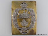A Rare 20th Lorne Scotts Cross Belt Plate