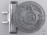 A Recovered SS Officer's Belt Buckle