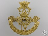 A Second War 4th Princess Louise Dragoon Guards Cap Badge