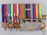 A Second War & Korean War Medal Group to the Canadian Army