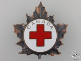 A Second War Canadian Red Cross Cap Badge