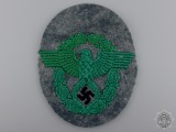 A Second War German Police Sleeve Badge
