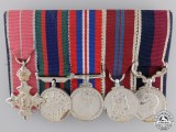 A Second War MBE RCAF Long Service Miniature Group