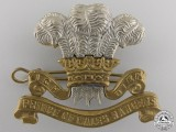 A Second War Prince of Wales Rangers Cap Badge