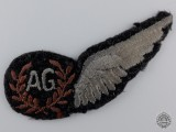 A Second War Royal Canadian Air Force Air Gunner Badge