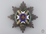A Serbian Order of Takovo; First Class Star by Karl Fischmeister