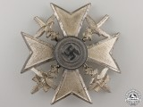 A Spanish Cross in Silver with Swords by Berg & Nolte , Ludenscheid