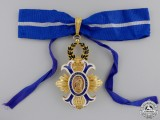 A Spanish Order of Civil Merit & Award Document