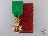 A Swedish Order of Vasa in Gold by C.F.Carlman