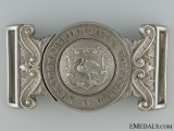 A Victorian Buckinghamshire Rifle Volunteers Officer's Buckle