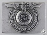 A Waffen-SS EM/NCO'S Belt Buckle by Assmann
