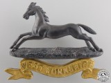 A West Yorkshire Regiment Officer's Badge by Gaunt