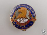 A WWI 241st Infantry Battalion Sweetheart Pin  consignment #17