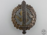 An SA Defense Badge; Type I by W.Redo
