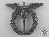 A Second War Czechoslovakian Air Force Observer's Badge by Spink & Son