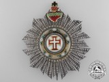A Portuguese Order of the Christ; Grand Cross Breast Star by Lemaitre 1901-1918